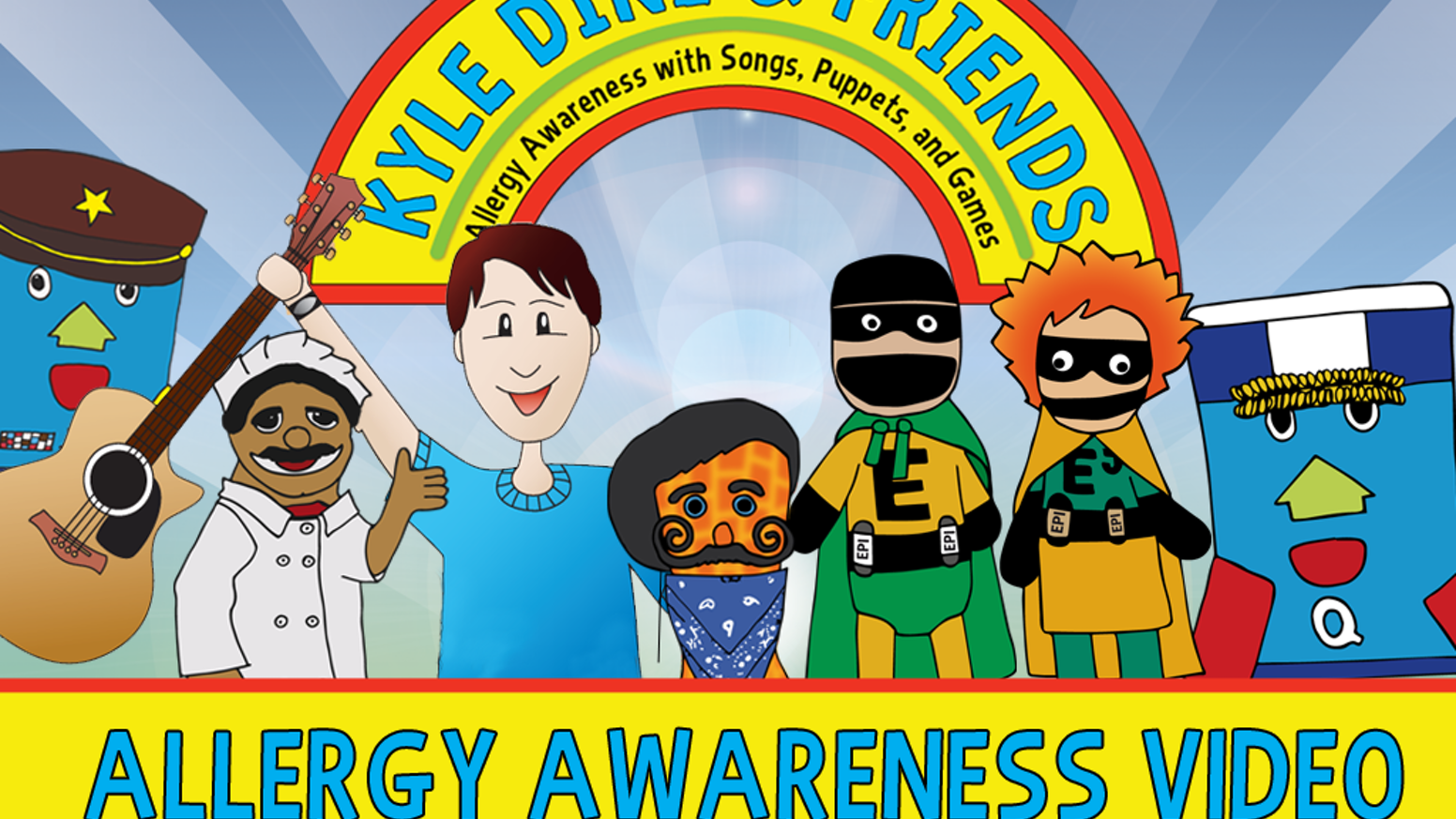 A video to help elementary schools educate students about food allergies through music, puppets and games!