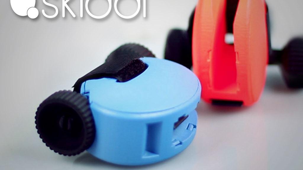 SKIDDI: the first pocket-sized ski-wheels, a social good too project video thumbnail