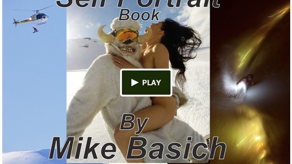 Selfportrait Book by Mike Basich project video thumbnail