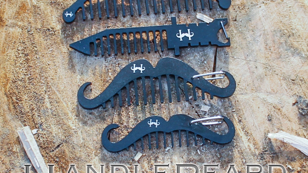 HandleBeard Beard Combs - Handle Your Beard project video thumbnail