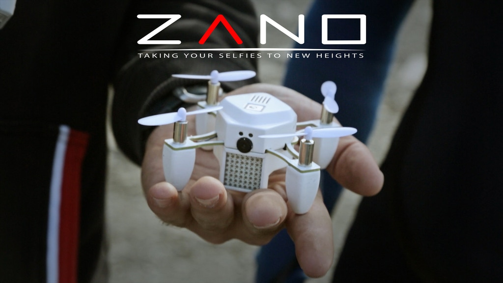 ZANO - Autonomous. Intelligent. Swarming. Nano Drone. project video thumbnail