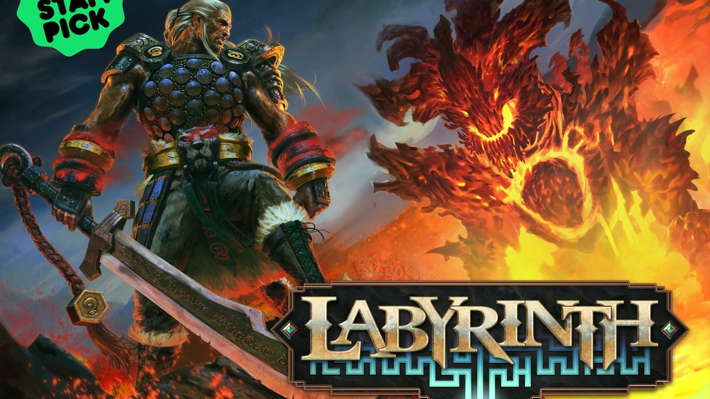 Labyrinth, Collectible Card RPG project video thumbnail