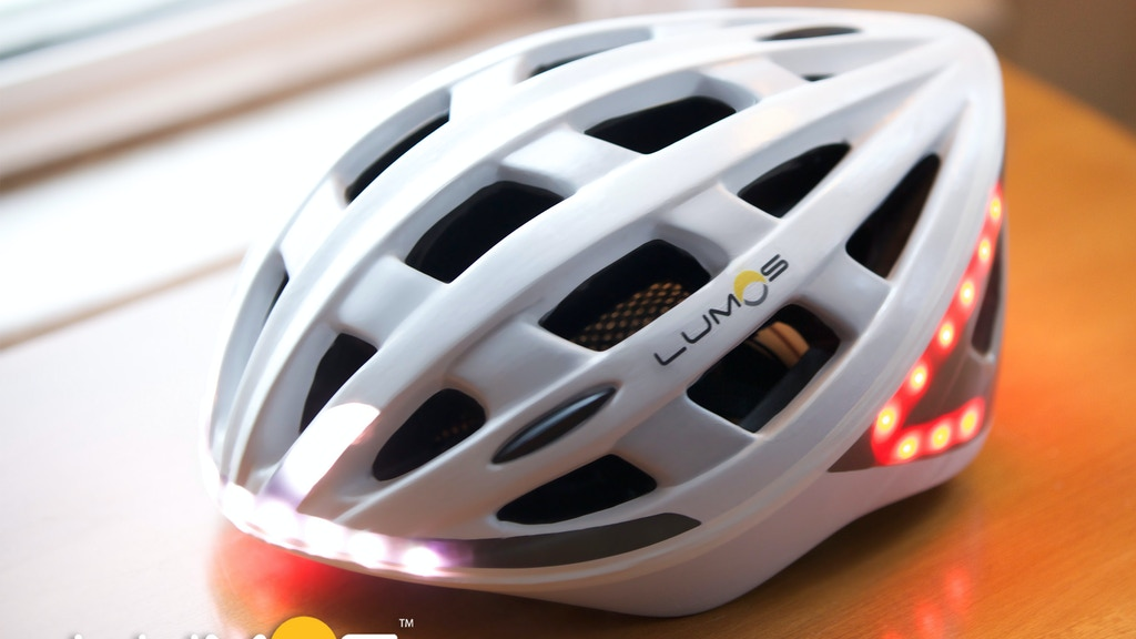 Lumos - A Next Generation Bicycle Helmet project video thumbnail