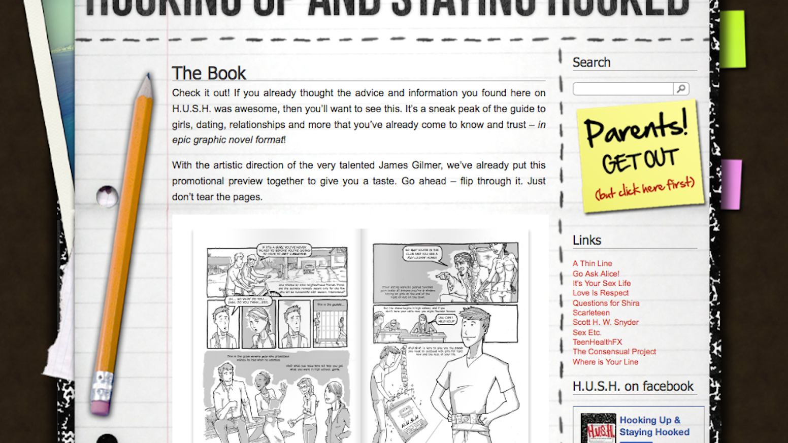 Hooking Up & Staying Hooked: The Comic Book by Colin Adamo