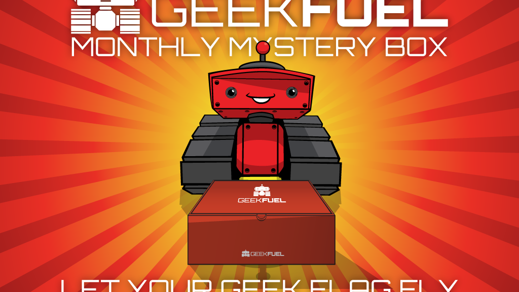 Geek Fuel - Monthly Mystery Box project video thumbnail
