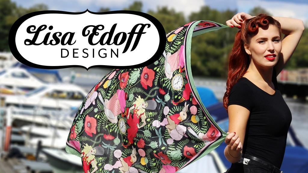 Lisa Edoff Design: Silk Scarves Meets Modern Pattern Design project video thumbnail