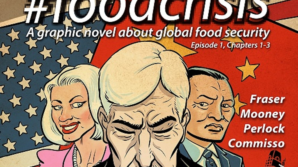 #foodcrisis: a graphic novel about global food security project video thumbnail