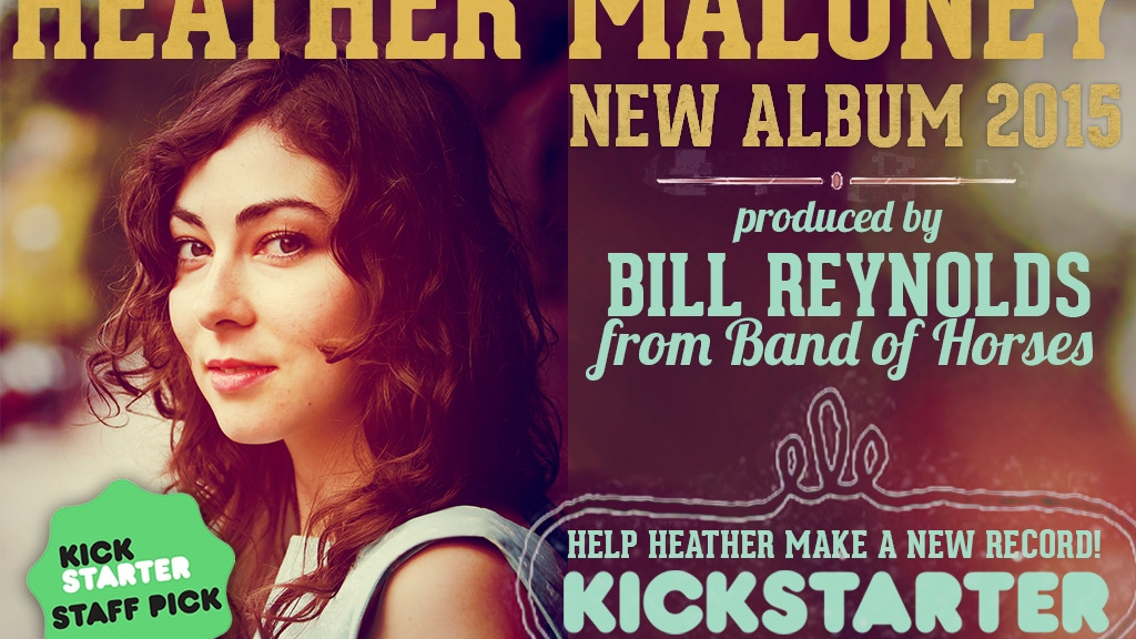 HEATHER MALONEY - NEW ALBUM 2015 project video thumbnail