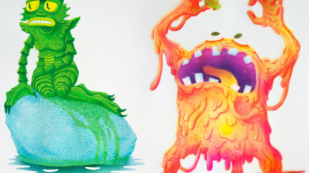 DISGUSTING MONSTER PRINTS project video thumbnail