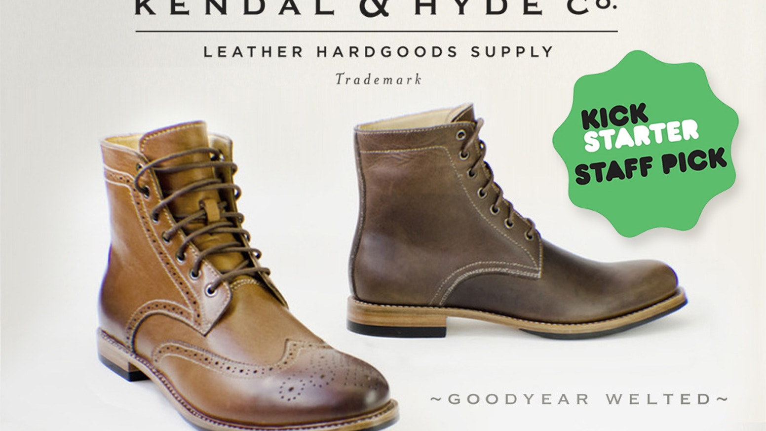 26947b340c4a Kendal & Hyde Co. leather goodyear-welted boots (and bags) by KENDAL ...
