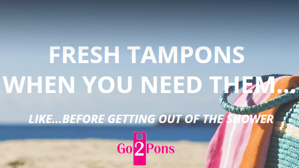Project image for Go2Pons - The Shower Tampon Holder - It's Tampon Nirvana