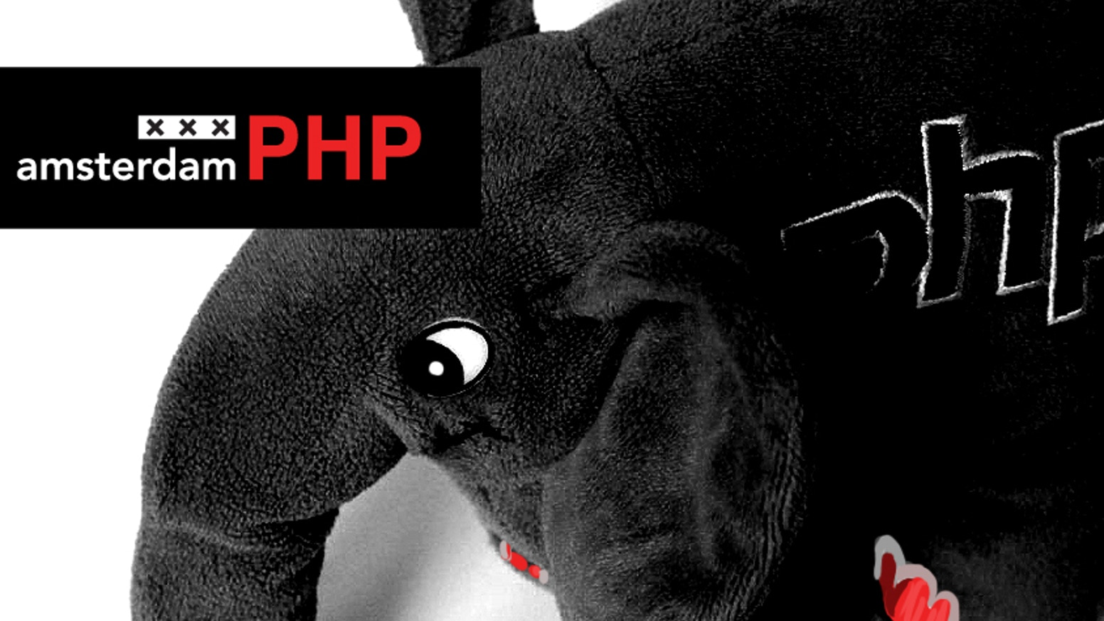 Help the AmsterdamPHP introduce a new color to the ElePHPant (Mascot of PHP) herd, help us create the black AmsterdamPHP elePHPant.