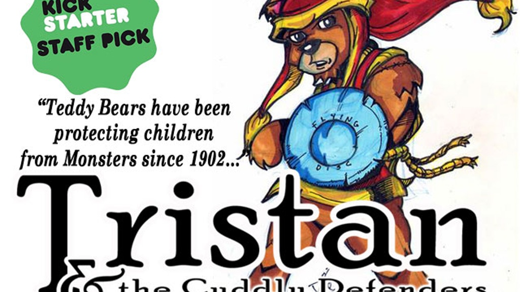 Tristan and the Cuddly Defenders Teddy Bear Adventure Comic project video thumbnail