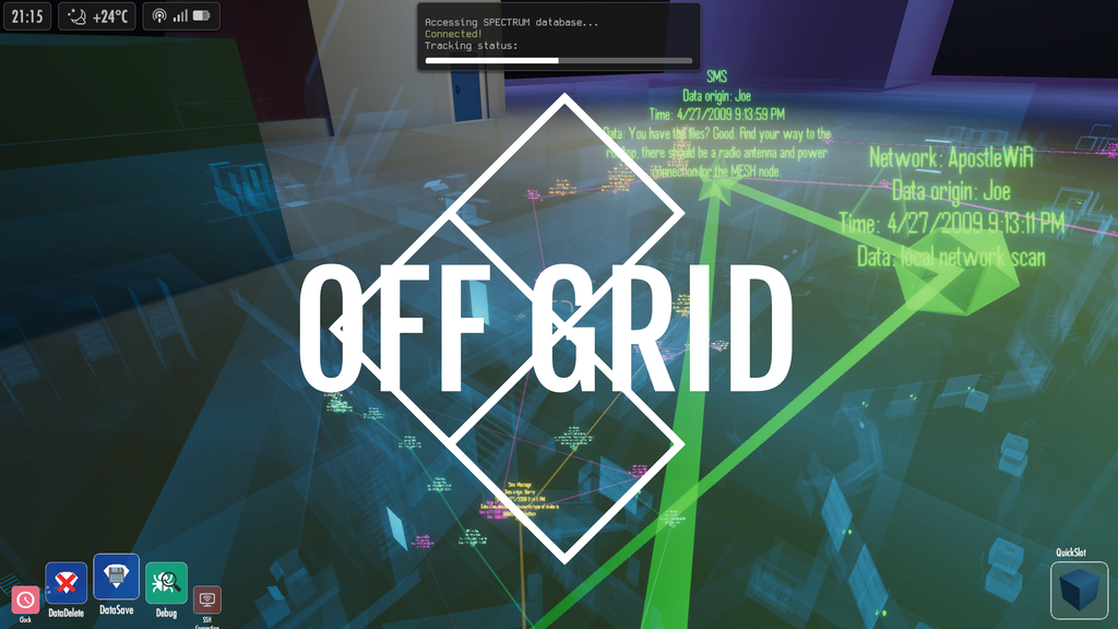 OFF GRID: Data is your most powerful weapon project video thumbnail