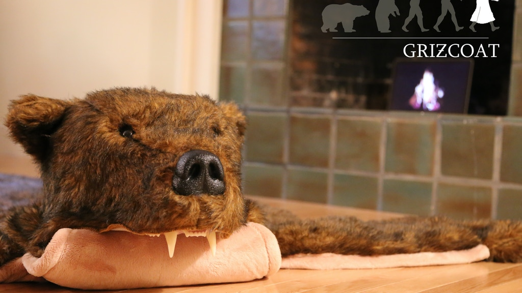Griz Rug: A totally realistic and totally fake bear rug project video thumbnail
