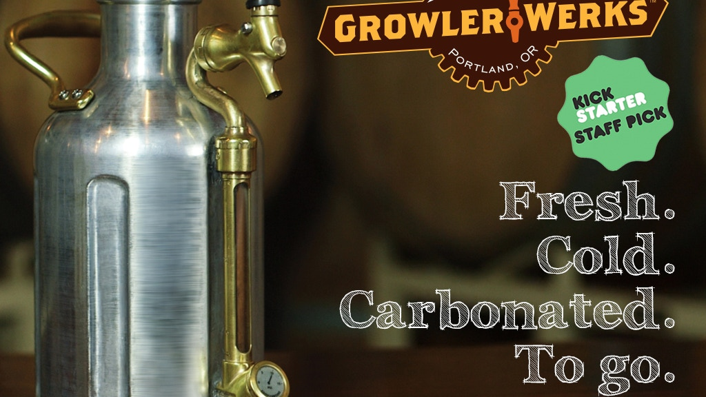 The uKeg Pressurized Growler for Fresh Beer project video thumbnail
