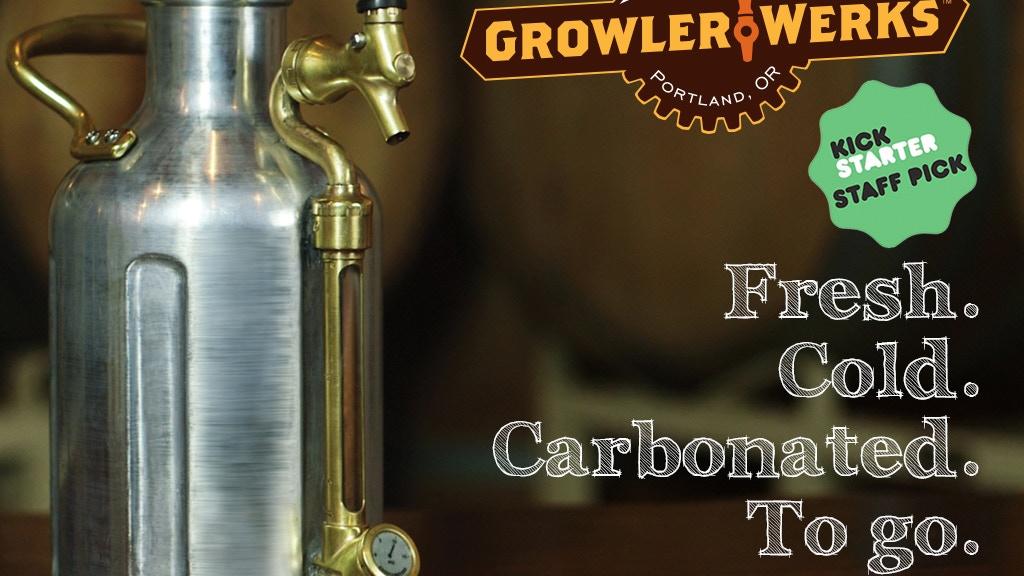 The uKeg Pressurized Growler for Fresh Beer project video thumbnail