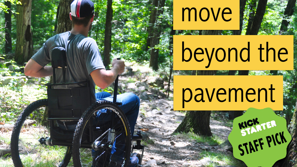 Freedom Chair: the Adaptive All-Terrain Mobility Machine project video thumbnail
