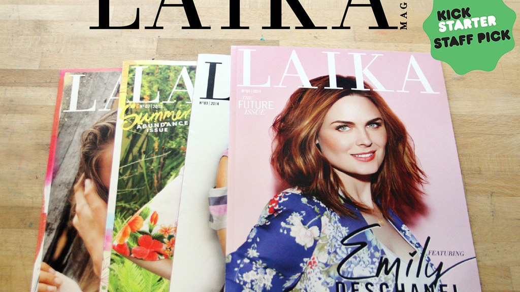 LAIKA Magazine: a modern vegan publication project video thumbnail