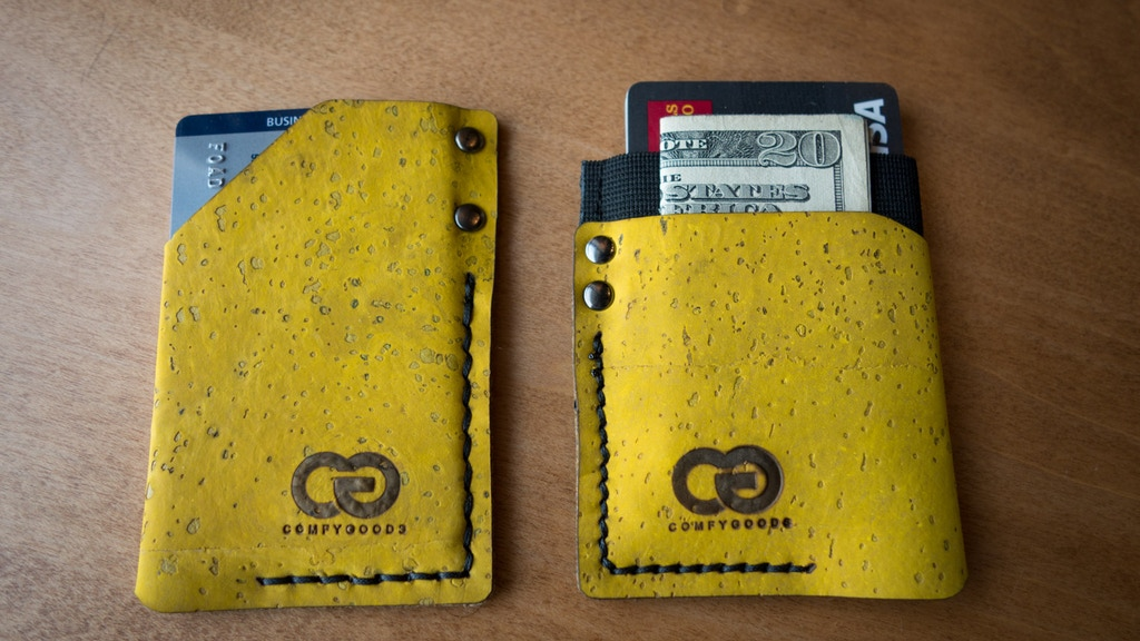 Monk & Guru - Handcrafted and slim Cork Wallets project video thumbnail