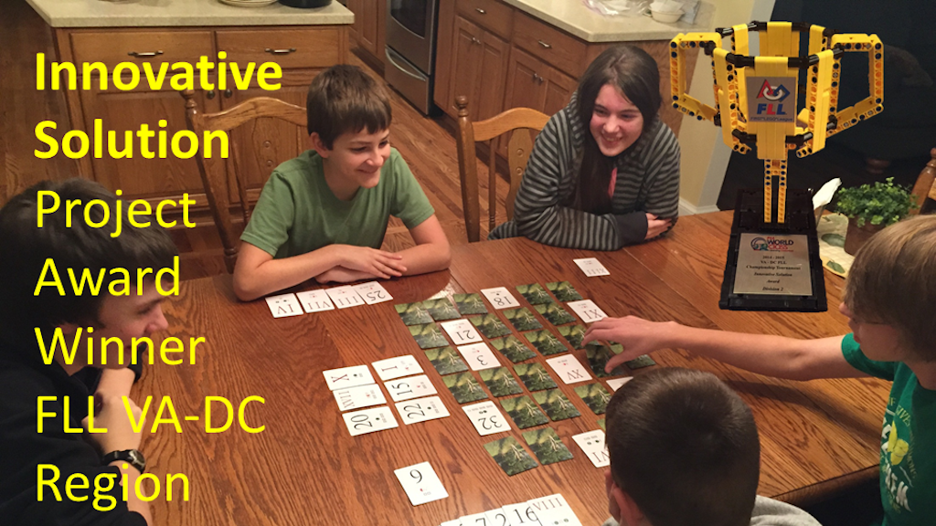 Math! Leave Them Kids Alone! Learning Styles Card Game project video thumbnail