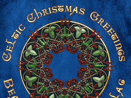 Celtic christmas greeting cards cd by marc gunn kickstarter send your family and friends celtic christmas greetings cards this holiday season complete with celtic christmas m4hsunfo