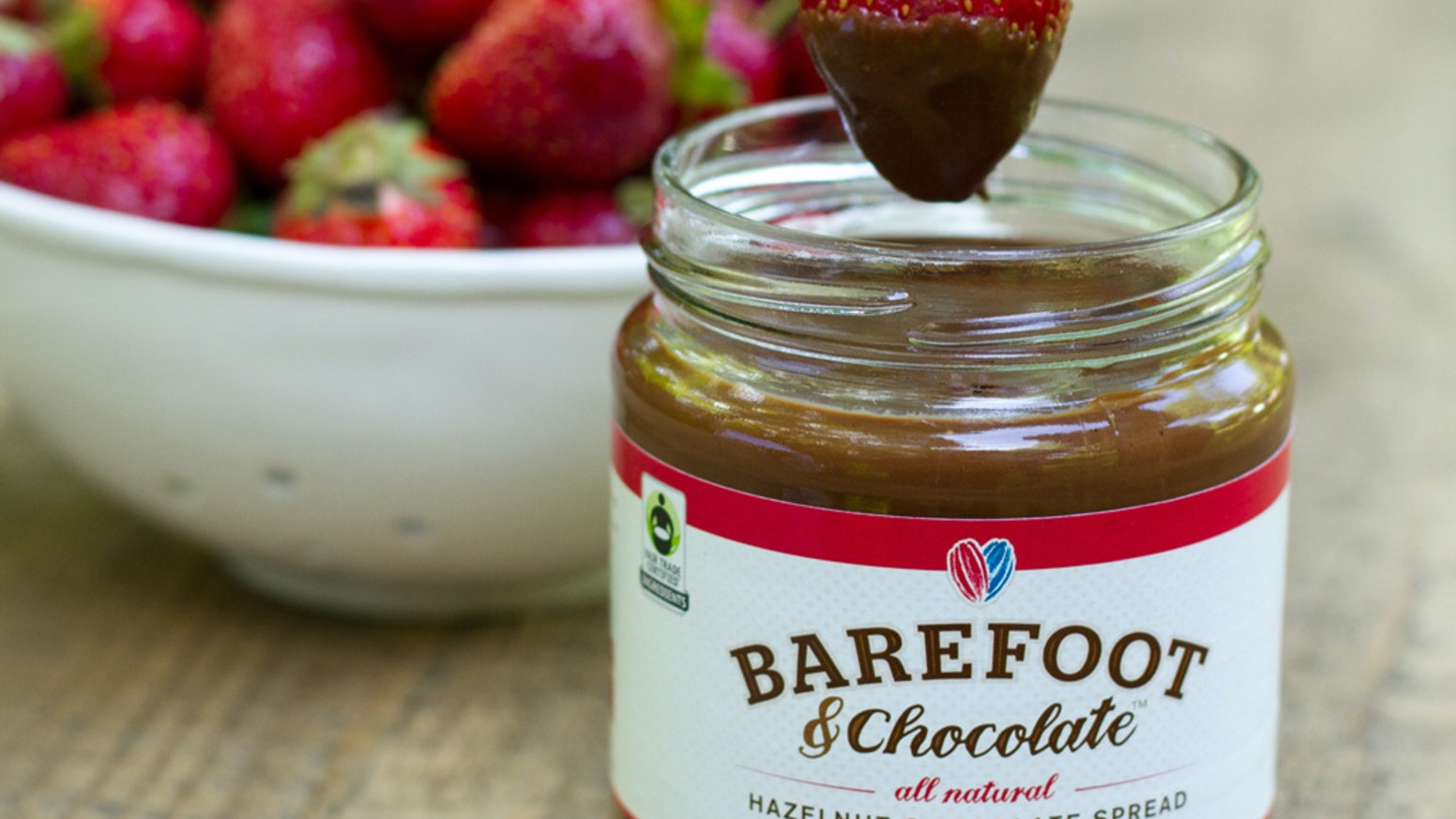 Barefoot & Chocolate - Fair Trade Chocolate Spreads by Barefoot ...
