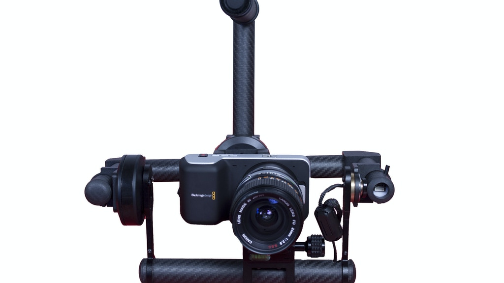 Project image for GyroSpeed 2 Axes Gyro Camera Stabilizer for BMPCC GH4 A7S