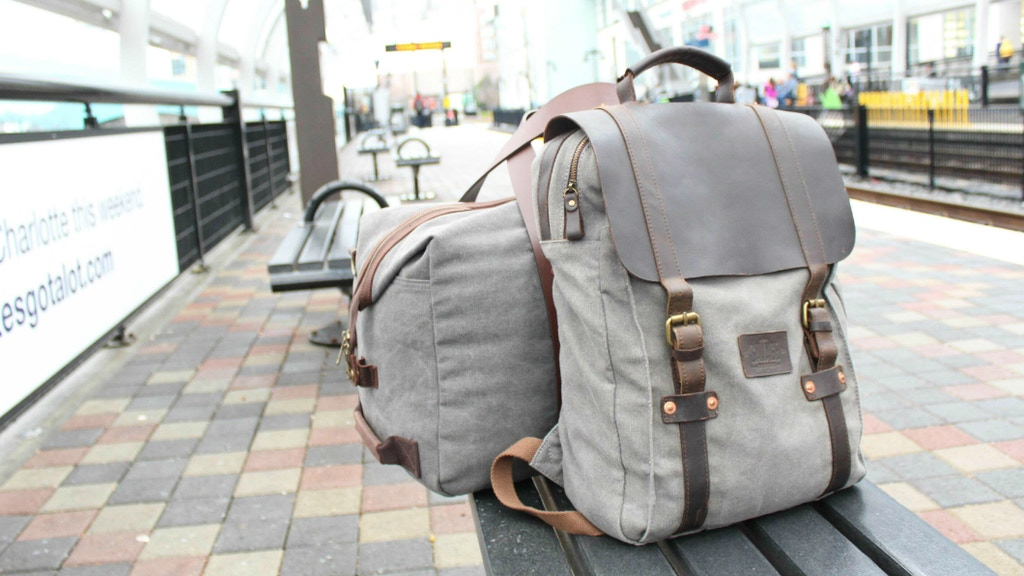 // CANVAS & LEATHER BAGS, BACKPACKS, WALLETS, IPAD CASE, project video thumbnail