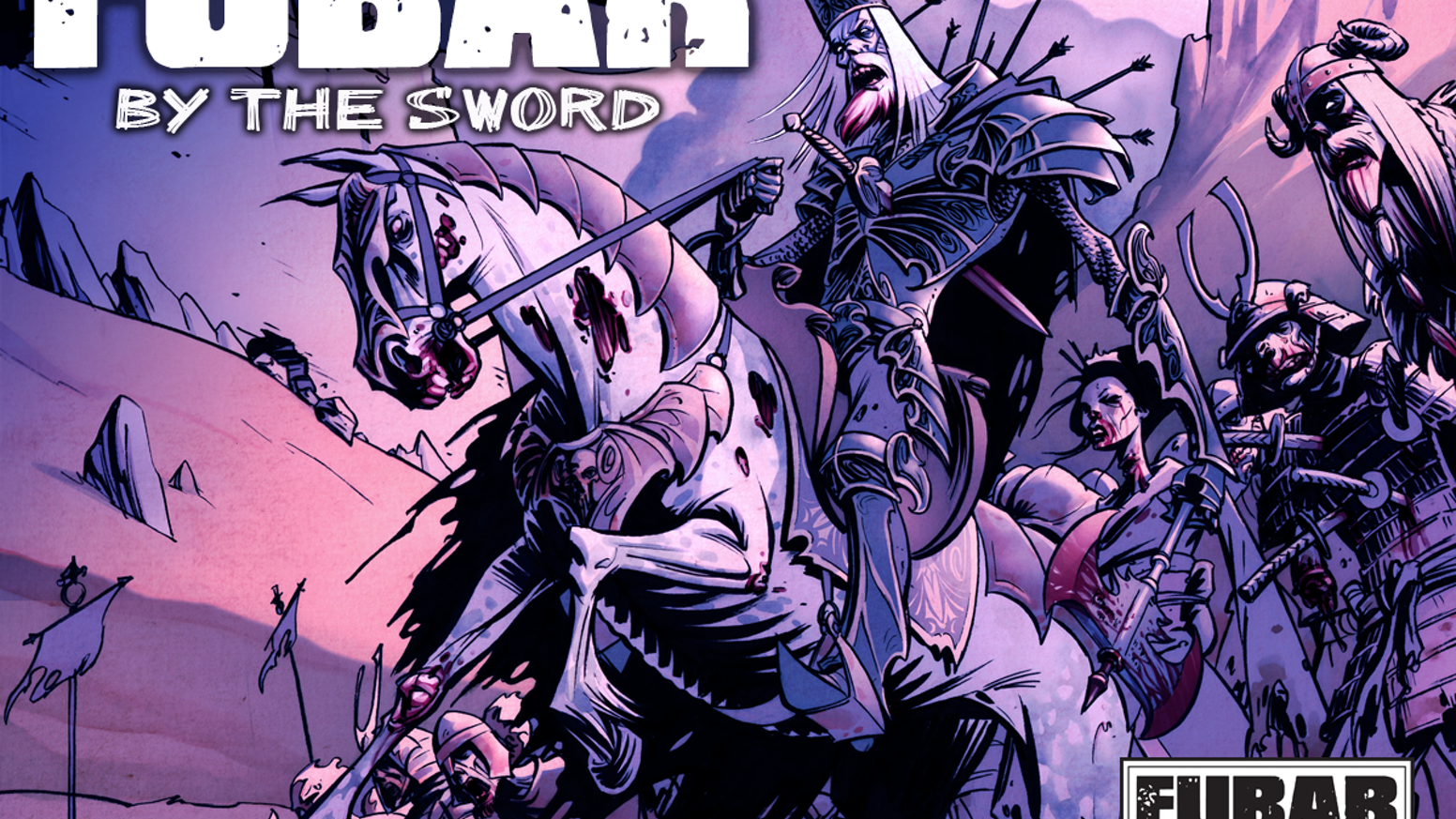 FUBAR: By The Sword spreads throughout ALL of world history in this next installment of the historical zombie anthology FUBAR.