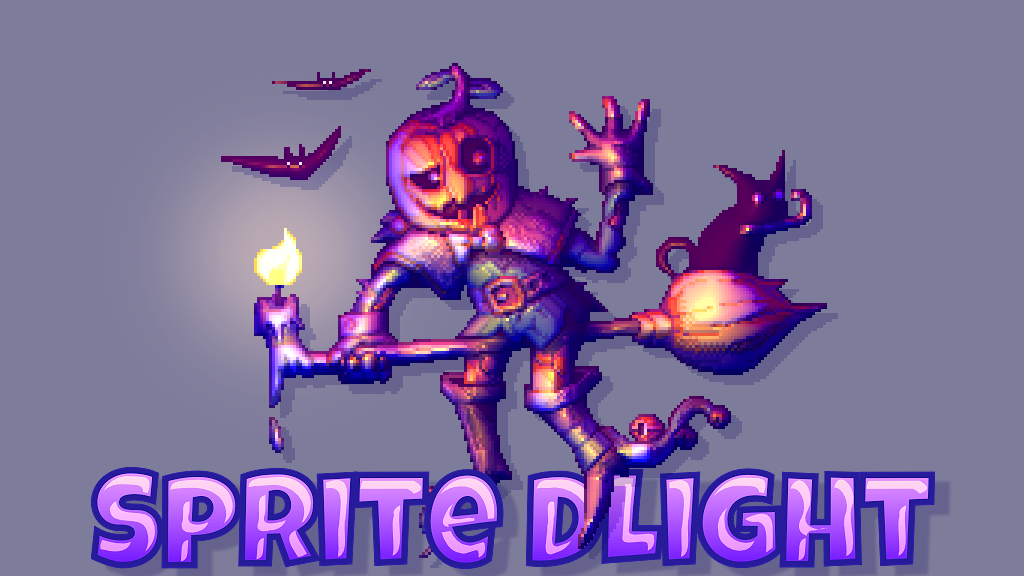 Sprite DLight - Instant normal maps for 2D graphics project video thumbnail