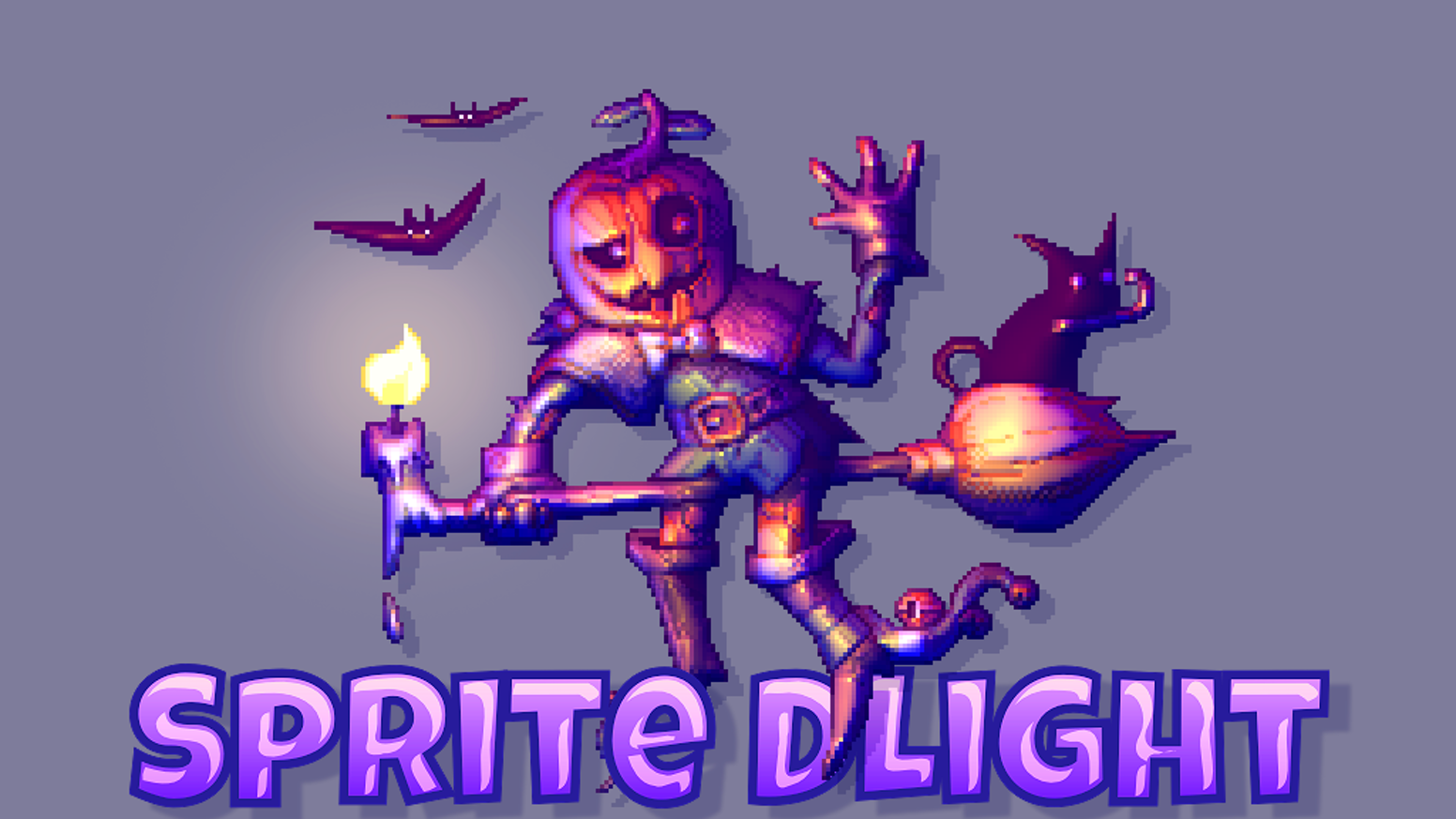 A tool providing a new generation of bulky one-click normal maps from 2D sprites like pixel art for dynamic lighting effects in games.