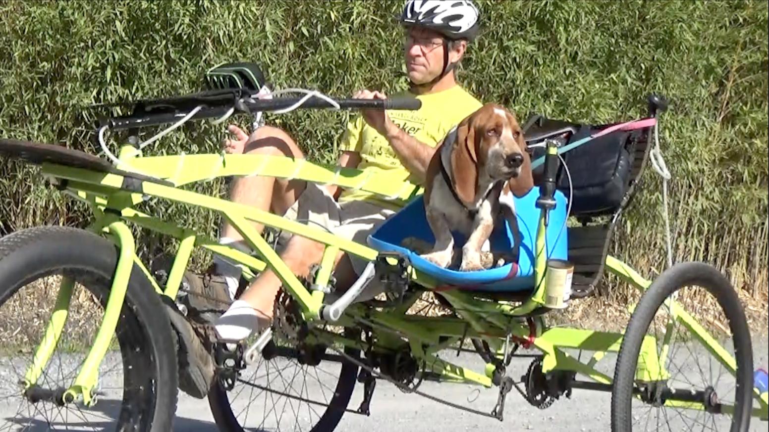 Safari Trike - A Sociable Tandem for Everyone by Dawn Thomas