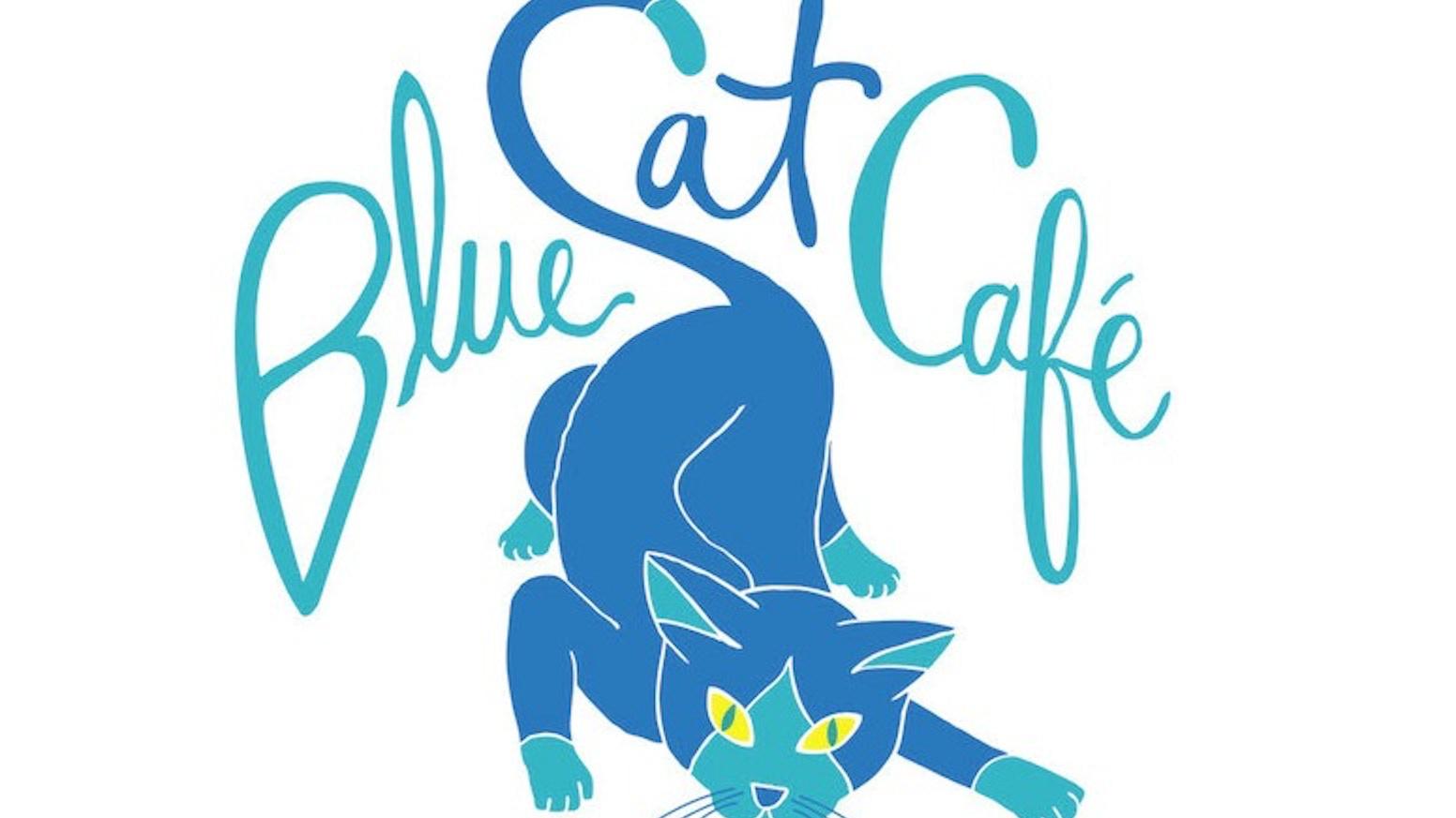 The Blue Cat Cafe - Food Trucks! Coffee! Adoptable Kitties!