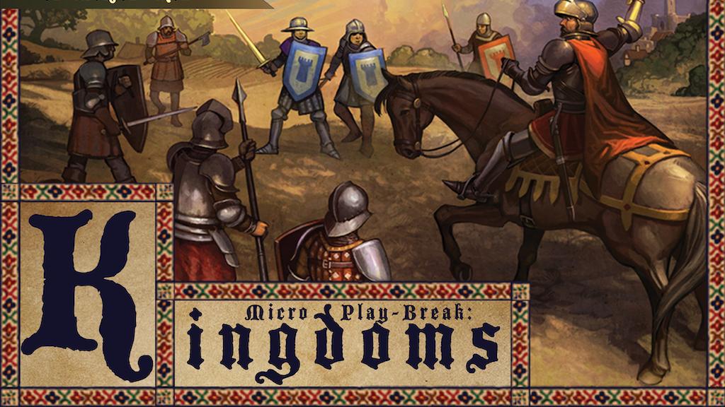 Micro Play-Break: Kingdoms  --  A Durable Micro Board Game project video thumbnail