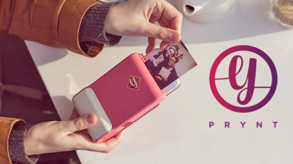 Prynt: the first instant camera case for iPhone and Android project video thumbnail