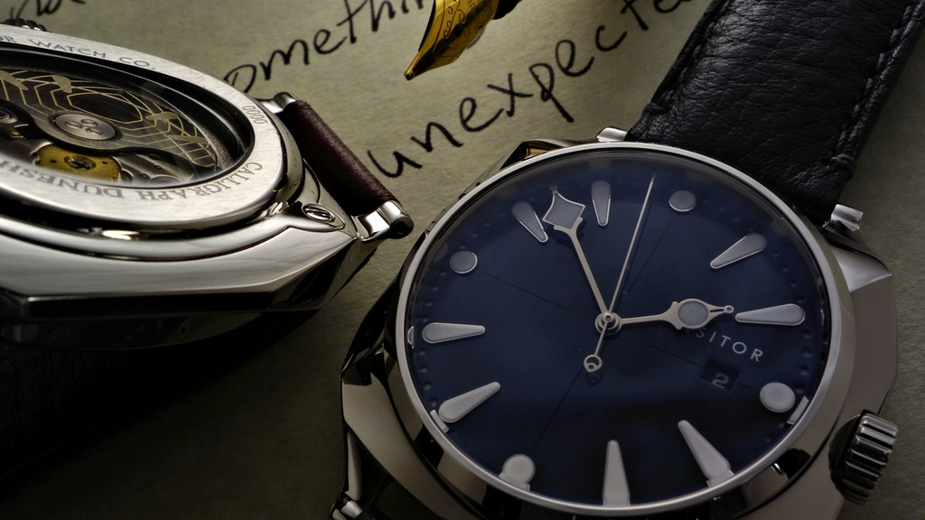 The Calligraph Duneshore: An Unexpected Watch project video thumbnail
