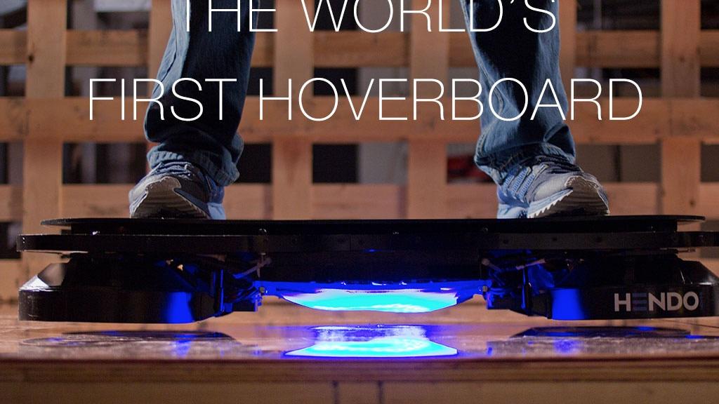 Miniature de la vidéo du projet Hendo Hoverboards - World's first REAL hoverboard