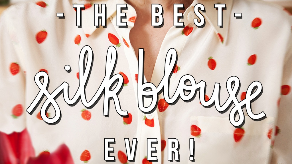 The Best Silk Blouse, Ever. project video thumbnail