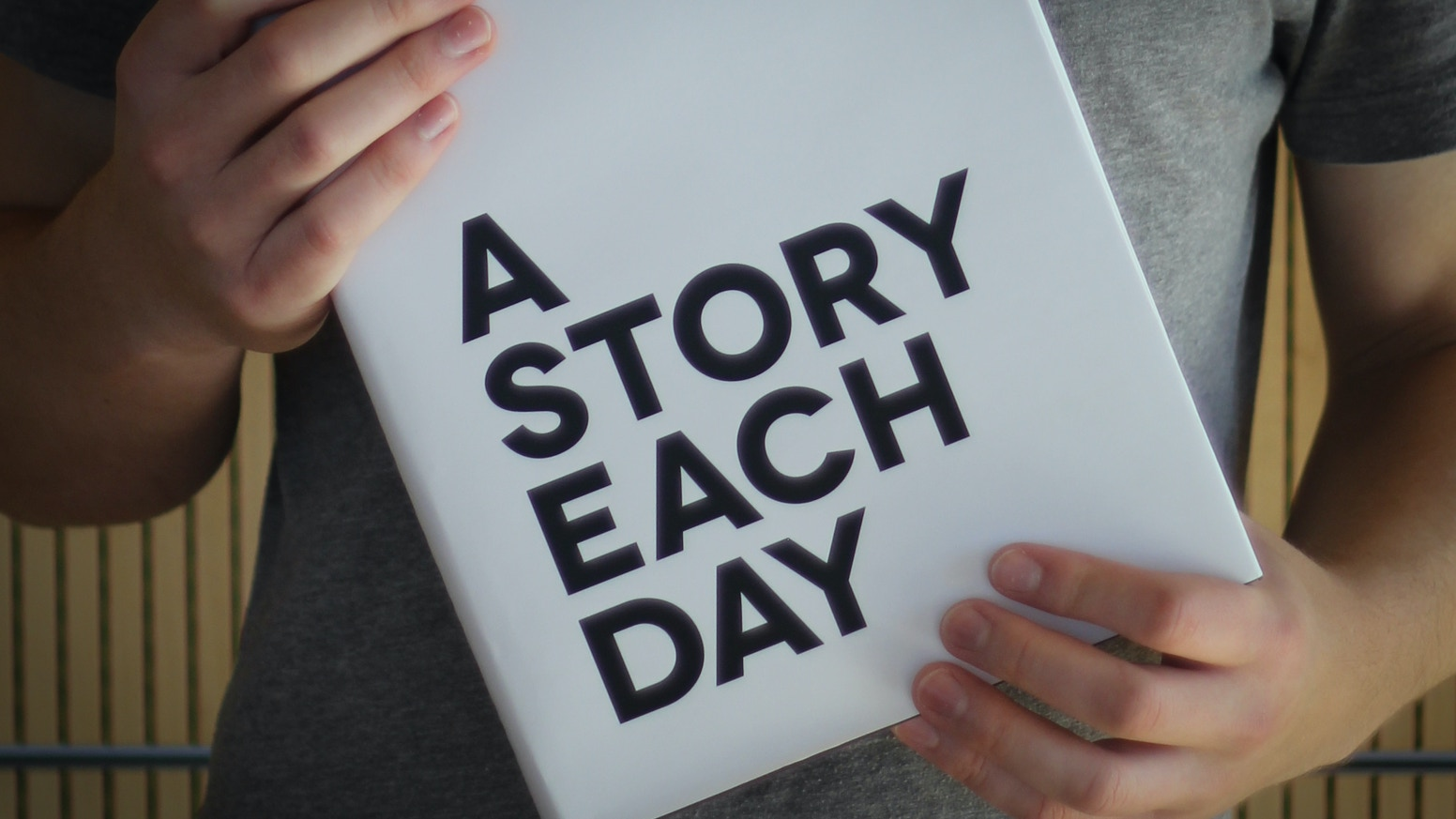 Writer and award-winning director Nicholas Sailer is writing a short story every day for 365 days, throughout the entire year of 2014.