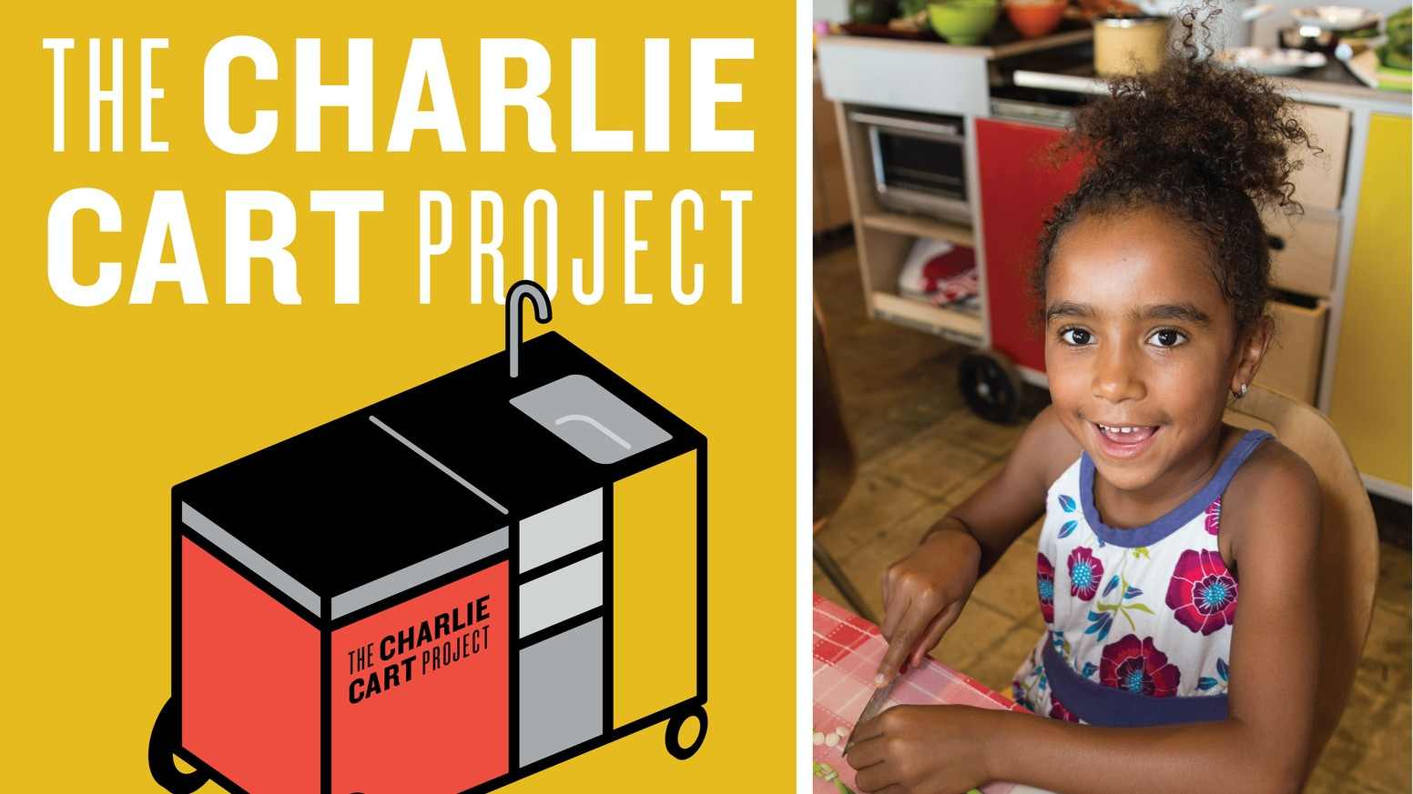 A compact, mobile kitchen with equipment, lessons & training, to get kids cooking in the classroom. Thanks to you, we piloted this program and are now ready to launch nationwide!