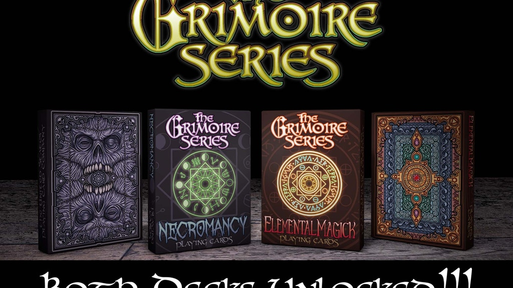 The Grimoire Series, Pt. 1 Playing Cards by Edgy Brothers project video thumbnail