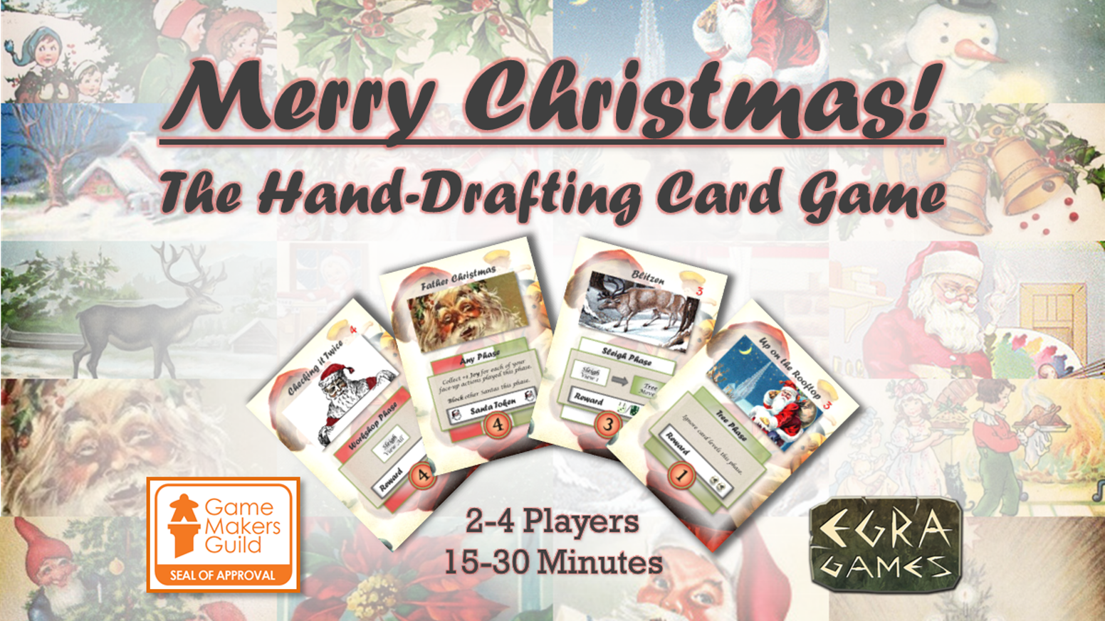 merry christmas the hand drafting card game - Merry Christmas Games