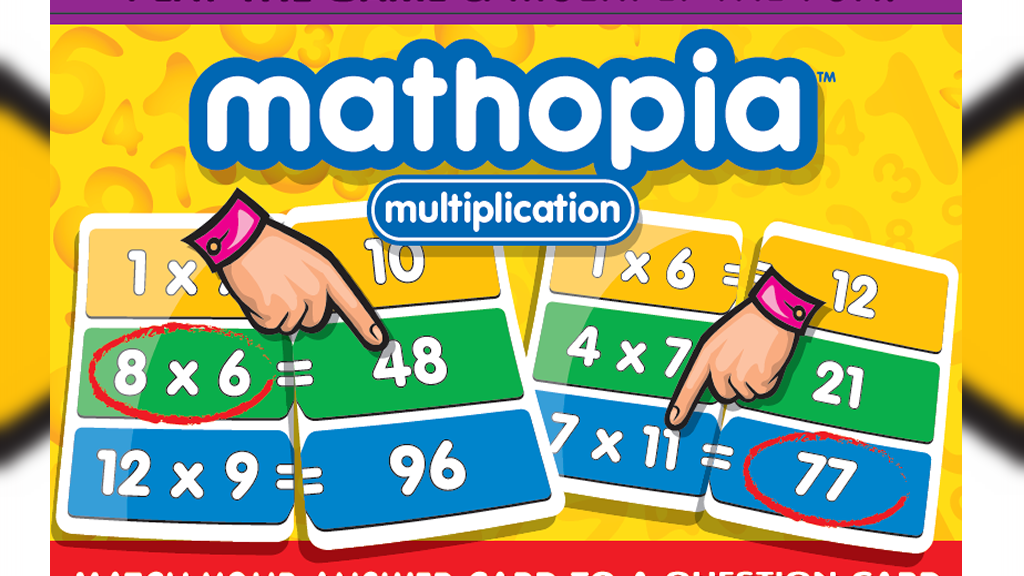 Mathopia Multiplication, a Fun and Instructive Card Game! project video thumbnail