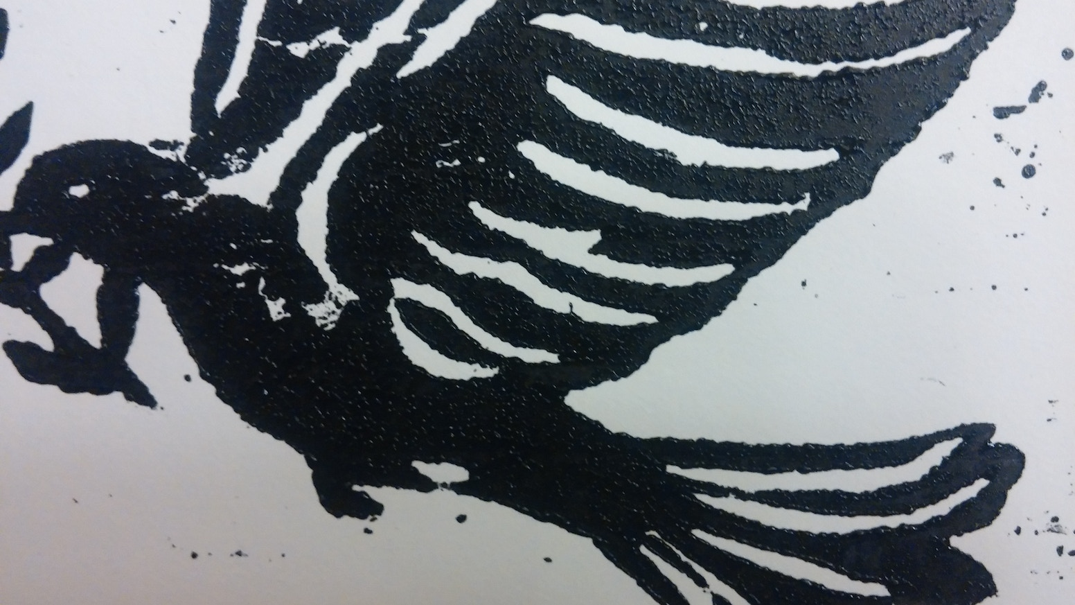 Hand Printed Christmas Cards from my new studio space! by chris ...