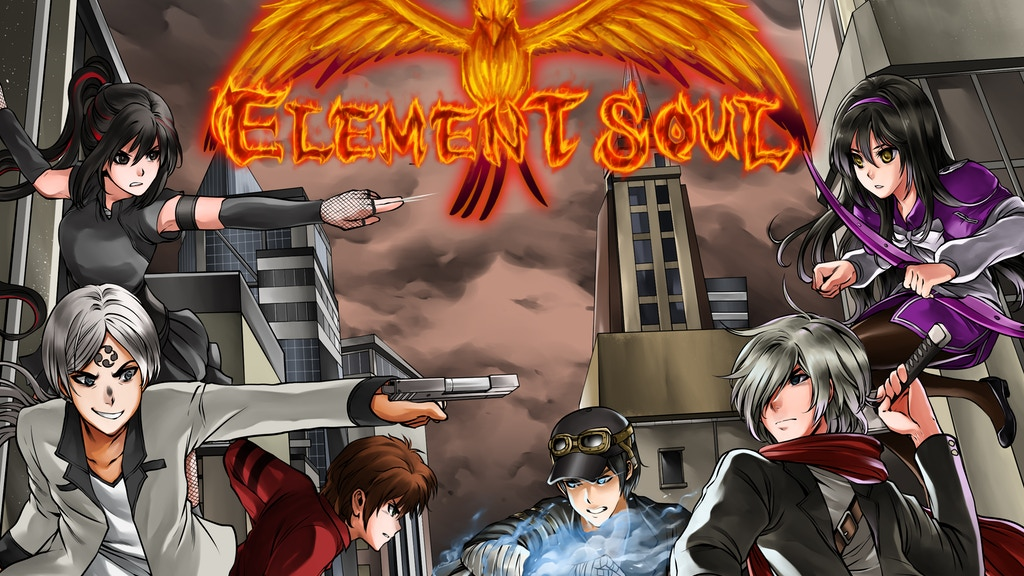 Element Soul CCG - Play with your own OC!; Expansion Pack 2 project video thumbnail