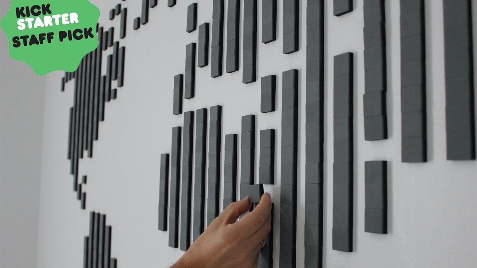 Wallz is a concept where you create wall art combining Wallz cubes in a form of puzzle - its simply art like you´ve never seen before!