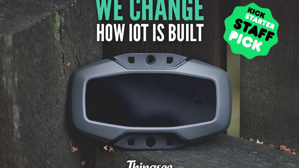 Thingsee One: The Smart Developer Device project video thumbnail