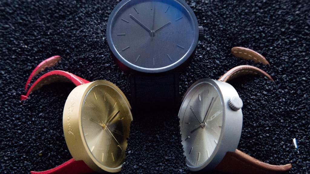 Noble Timepieces - Limited Swiss Movement Watches project video thumbnail