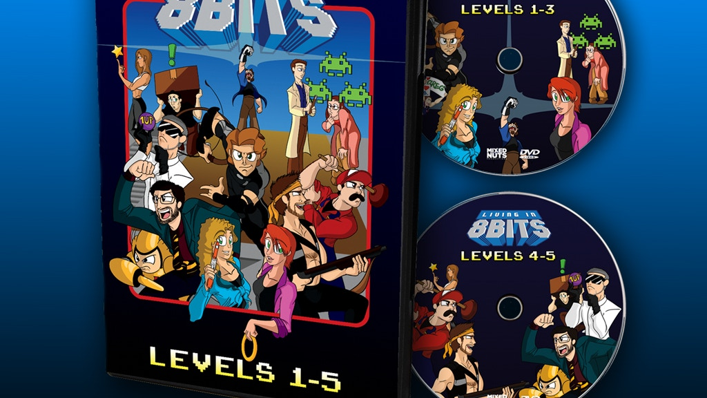Living in 8 Bits DVD project video thumbnail